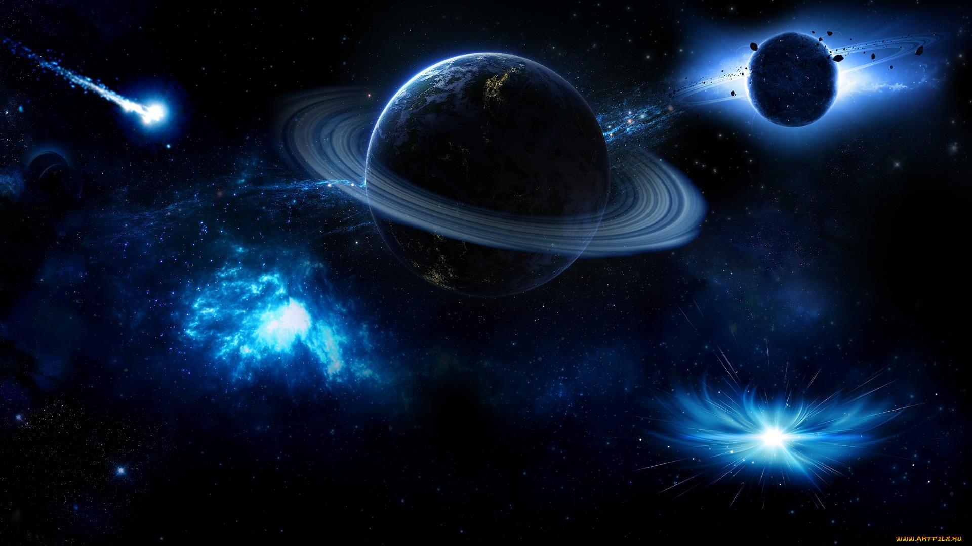 космос все картинки планет галактики домов